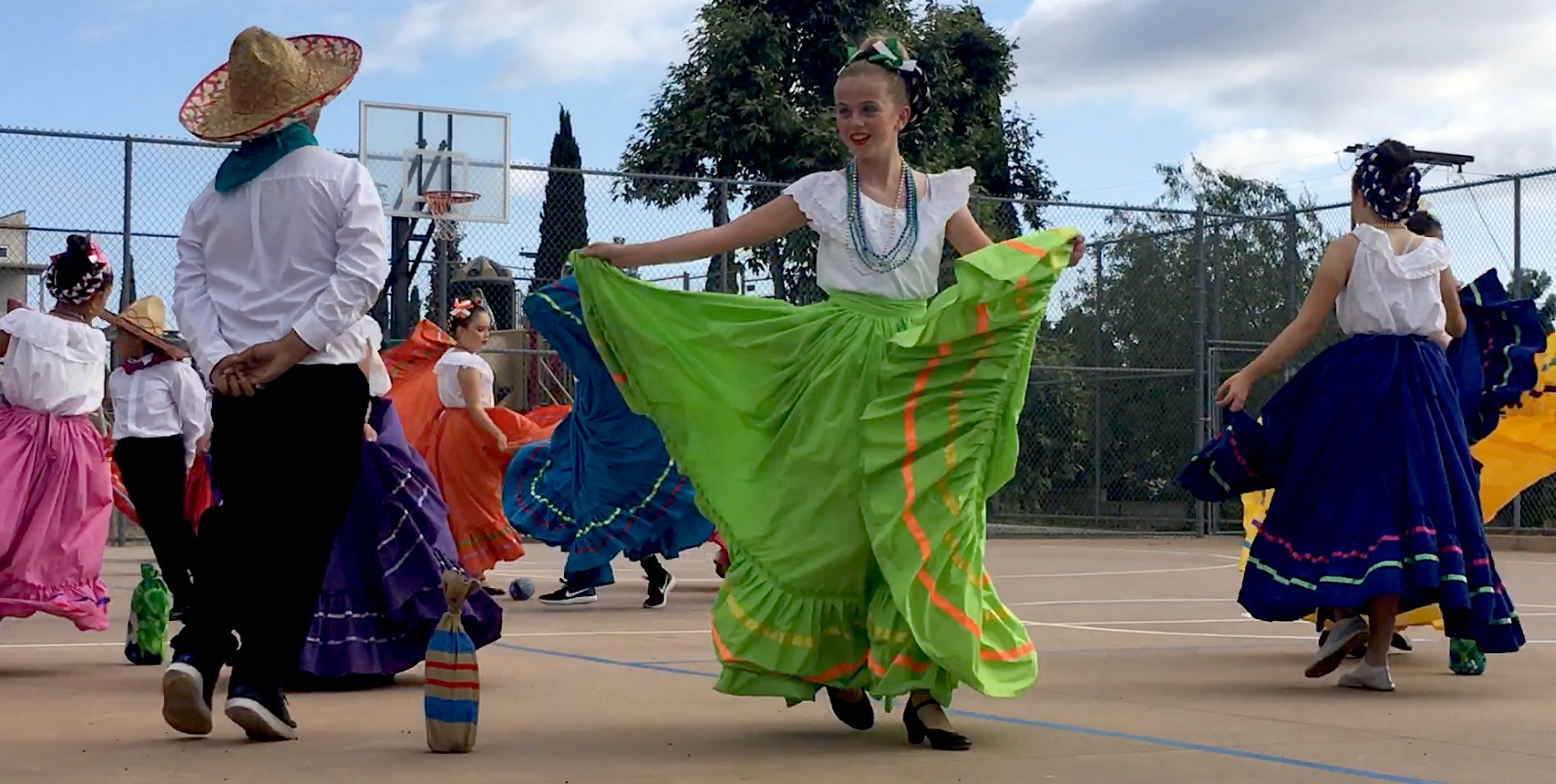 Folklorico Dance After School Class