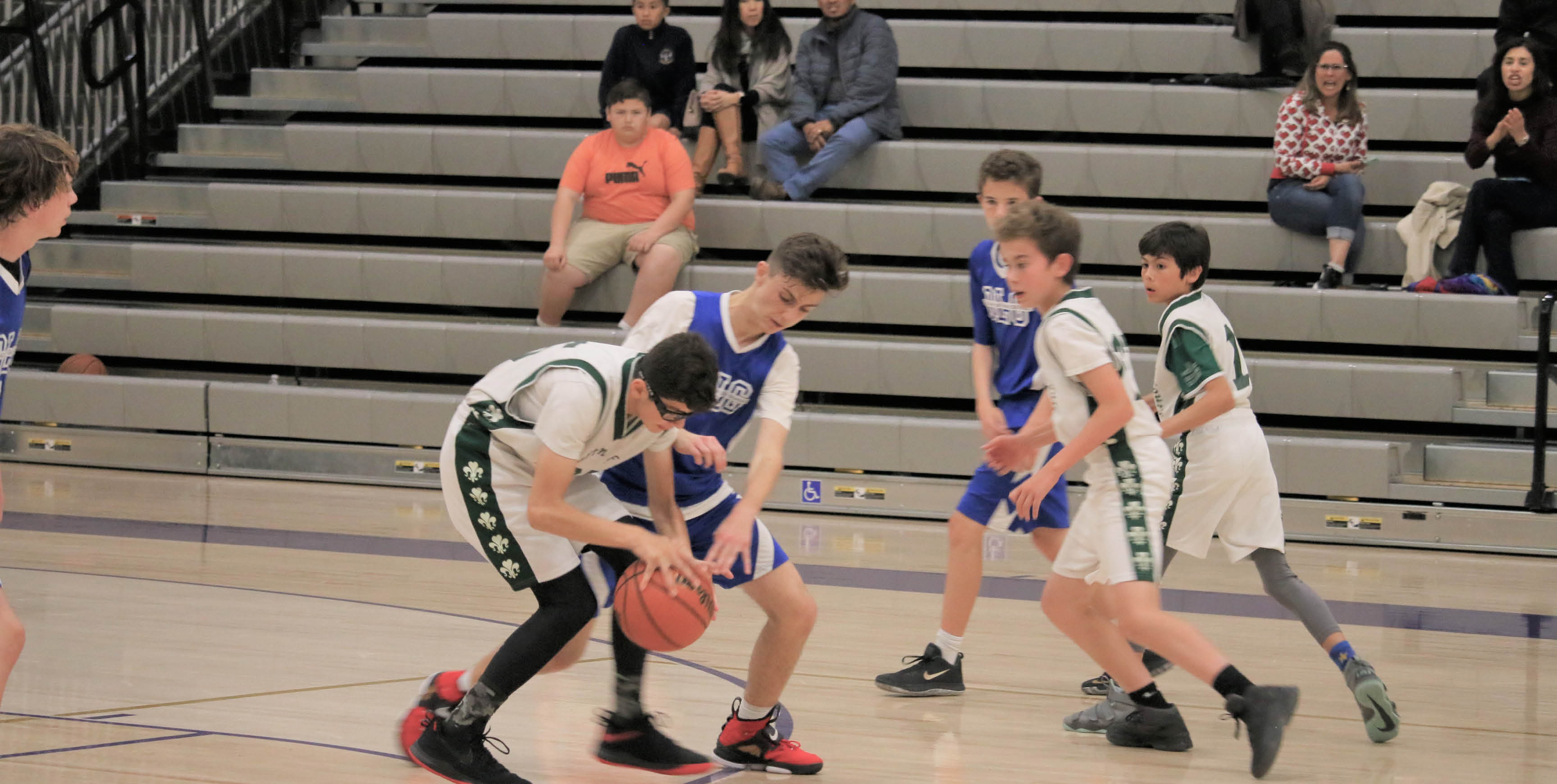 Varsity BB is one of many sports offered at SMA.